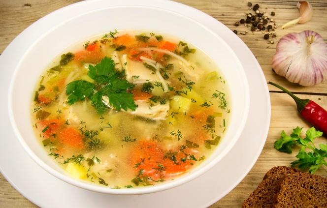 Chiken soup.