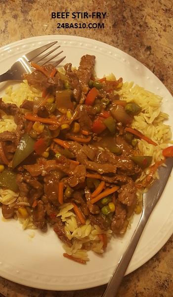 Beef Stir Fry 3