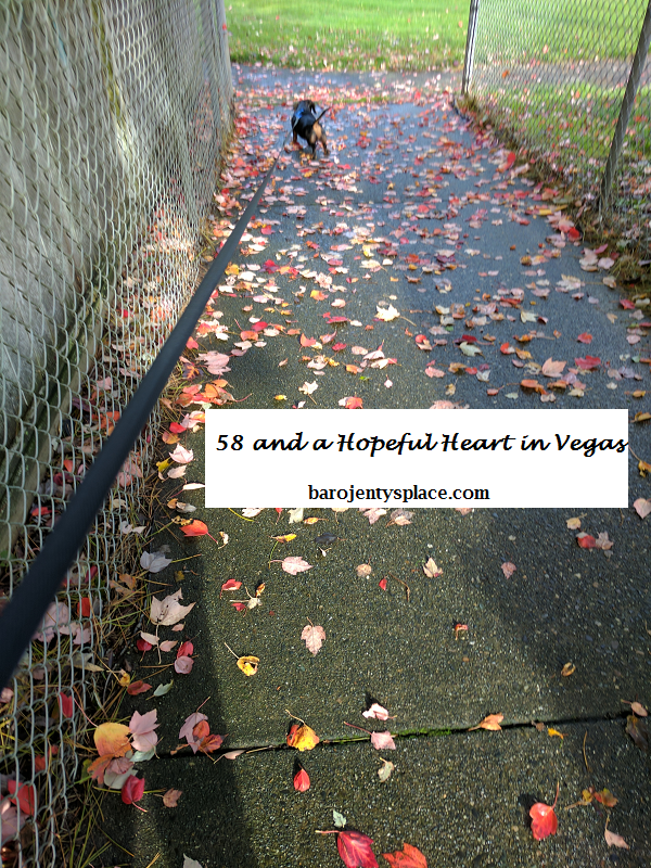 58 and a Hopeful Heart in Vegas